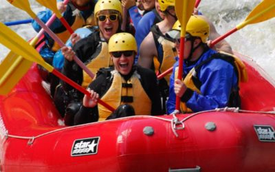 the best adirondack town for white water rafting!